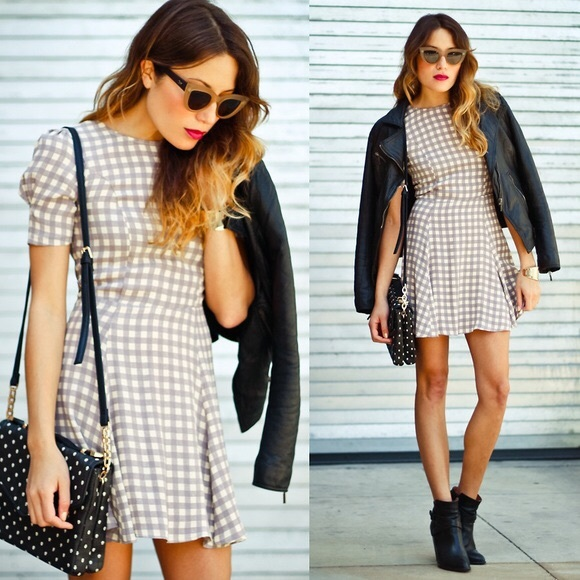 79bc95ba2a5 reformation-checkered-dress by poshmark